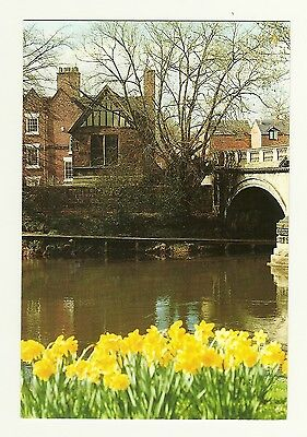 Derby - a large photographic postcard of Chapel St. Mary on the Bridge