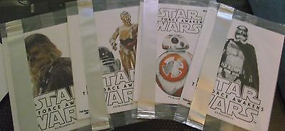 Star wars general mills stickers X4 unopened