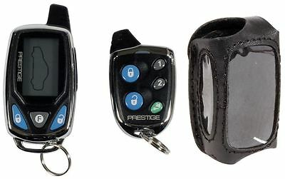 Prestige APS997C 2 Way LCD Remote Start/Alarm Security System+LC-1 Leather Case