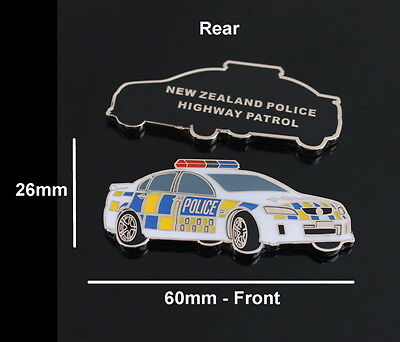 New Zealand Police Highway Patrol Challenge Coin (social)