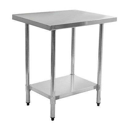 "New 24"" x 36"" Stainless Steel Commercial Kitchen Work Food Prep Table"