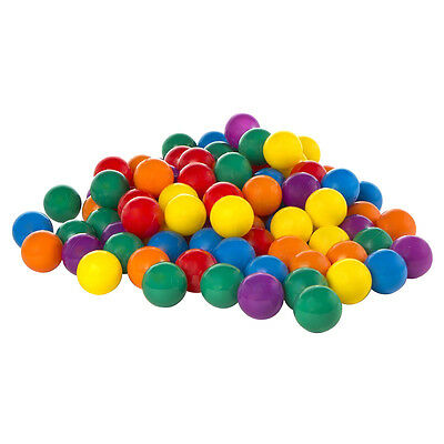 100-Pack Intex Large Plastic Multi-Colored Fun Ballz For Ball Pits   49600EP