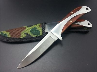 """8"""" Little Sharp Outdoor Camping Hunting Fishing EDC Knife Full Tang  FIXED Blade"""