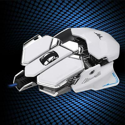 4800DPI Optical USB Wired Gaming Mouse Mice For Windows Mac OS PC