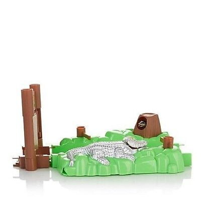 Bend A Path Toy Track Accessory Alligator Gate and Swamp Track Attachment Extend