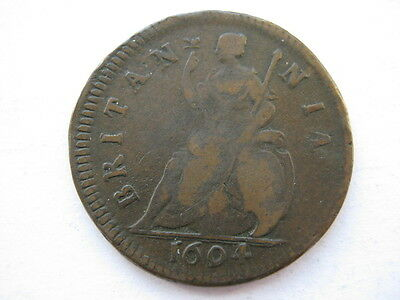 1694 Farthing 24.5mm diameter F