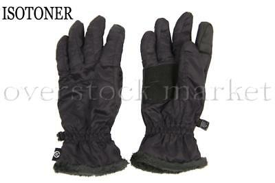 New Womens Isotoner Polartec Alpha Smartouch Faux Fur Trim Gloves! Variety!