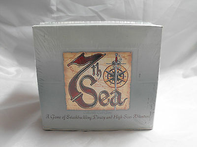 7Th Sea Ccg, Shifting Tides, Chapter 2 Sealed Booster Box Of 36 Packs