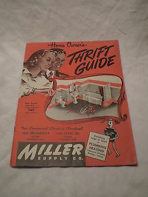 Vintage 1942 Catalog also 50's Home Owners Thrift Guide Miller Supply Cleveland
