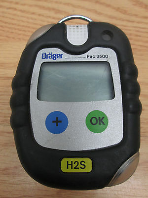 Drager PAC 3500 Single Gas Detector H2S