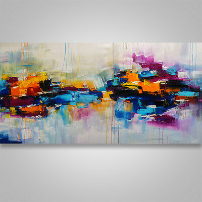 Large Abstract Painting Art Original  palette knife wall decor home decor #164