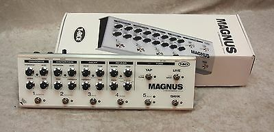 T-Rex TREX Magnus multi-effect pedal with power supply.