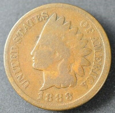 1888 Indian Head Cent in Good