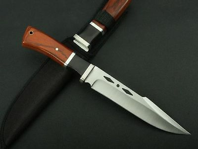 """12"""" Survival Bowie Camping Hunting KNIFE Outdoor Sports Collect Fixed Blade 310"""