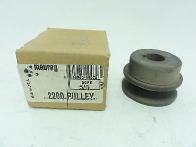 """138273 New In Box, Maurey 2200 Pulley 1 Groove 5/8"""" ID, 2"""" OD"""