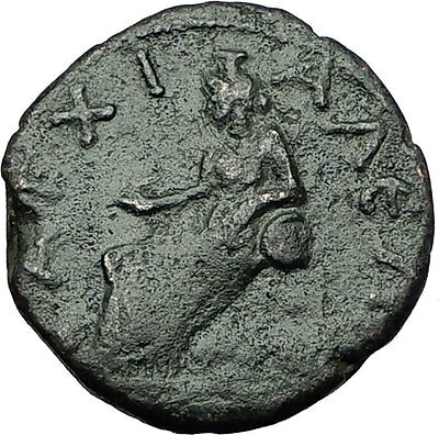 SEPTIMIUS SEVERUS 193AD Anchialus Thrace Cybele Lion Ancient Roman Coin i59330