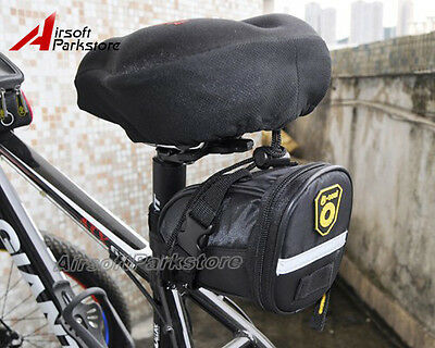 Bike Bicycle Cycling Seat Saddle 1680D Rear Tail Bag Quick Release Black