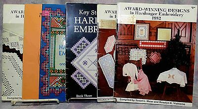 6 Hardanger Embroidery Pattern Books great variety of items
