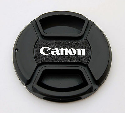 58mm Center Pinch Front Lens Cap for Canon 18-55mm EOS Rebel T6i T5i T4i T3i SL1