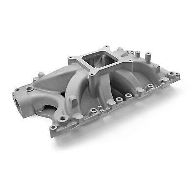 fits Ford 351W Windsor Shootout High Rise Intake Manifold Satin