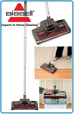 Bissell Easy Sweep Battery Powered Floor Carpet Sweeper Rechargeable 53X7F
