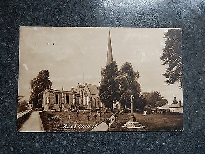 1909 fr Frith postcard- Ross Church - Herefordshire