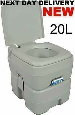 New 2017 Kampa Portaflush 20 Camping Portable Potti Loo Toilet Chemical Toilet
