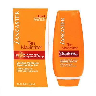Lancaster Tan Maximizer Soothing Moisturiser Aftersun For Face & Body 125ml