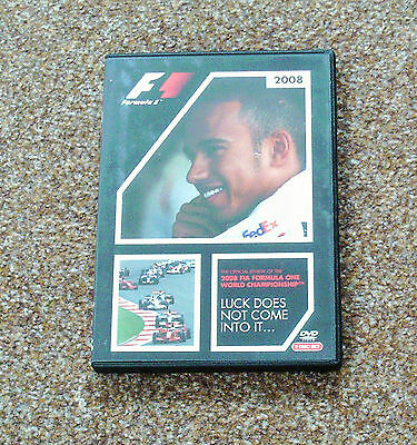 The Official Review Of The 2008 Fia Formula One World Championship Dvd
