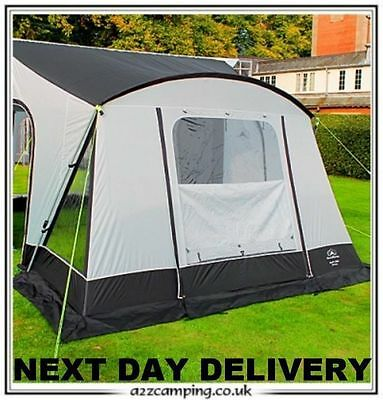 New 2017 Sunncamp Swift 325 Deluxe Caravan Porch Awning With Rear Upright Pads