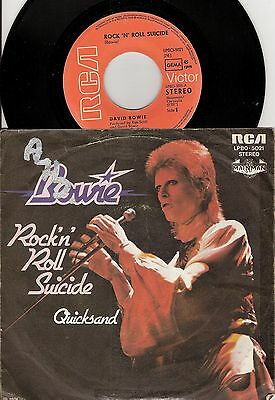 David Bowie – Rock 'n' Roll Suicide - German issue vinyl 45