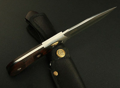 Colt Survival Bowie Full Tang Camping Hunting KNIFE Wood Handle Fixed Blade
