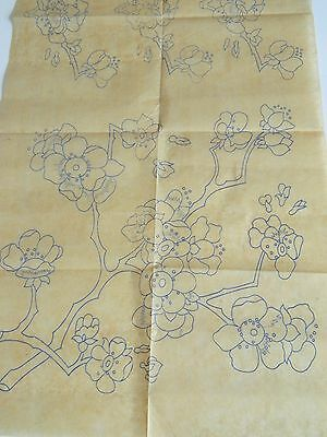Blossom Flowers ~ Vintage Iron-on Embroidery Transfer Pattern 04