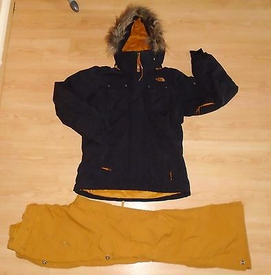 North Face Ski Snow Boarding Hyvent Baker Jacket Go Go Cargo Pants Trousers M
