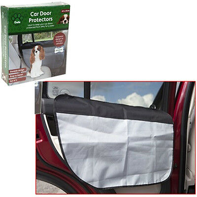 Crufts Waterproof Pet Dog Car Door Cover Back Seat Guard Protector One Size New