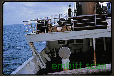 Original Slide, Aboard the P&O-Orient Lines Ocean Liner SS Oronsay in 1964, C