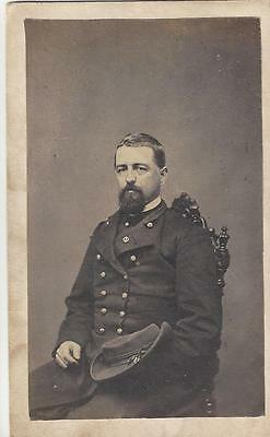 Civil War CDV of a Union Colonel Thomas S Hall 92nd NY Vols