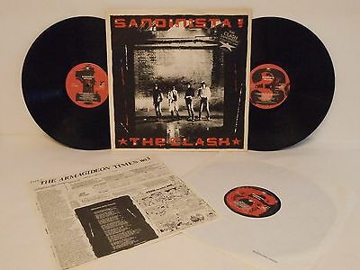 70s 80s Punk Rock New Wave THE CLASH sandinista! 1980 UK Vinyl LP + Insert FAB!
