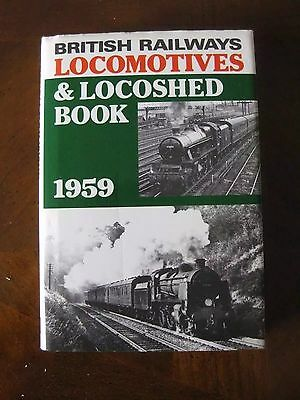 abc BR Locomotives and Locoshed  book 1959 * Ian Allan publishing no underlining