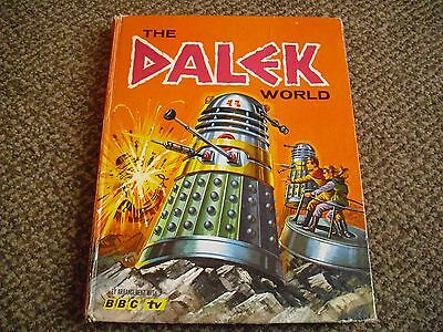 The Dalek World Annual 1965-Doctor Who Rare
