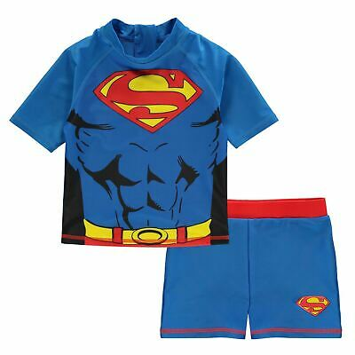 Character Kids Boys 2 Piece Swim Set Shorts T Shirt Tee Top Infant Clothing