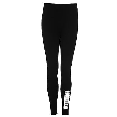 Puma Kids T7 Leggings Girls Elastic Sports Pants Training Bottoms