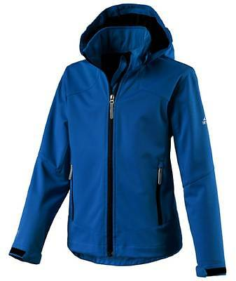 McKinley Kinder Freizeit Outdoor Wander Softshell Jacke BUDDY royal blau