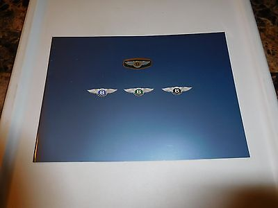 BENTLEY Official Brochure CONTINENTAL T/R & AZURE - 1997