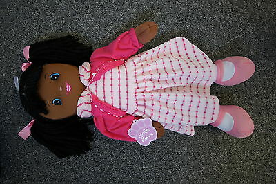 """Official Brand New 20"""" Pink Rag Doll. Plush Soft Toy."""