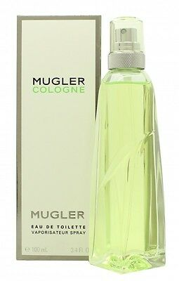 Thierry Mugler Cologne Eau De Toilette Edt 100Ml Spray. New. Free Shipping