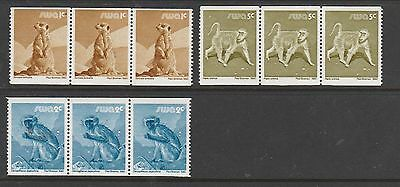 South West Africa 1980/89 Wildlife, coil set in strips of 3 UM SG 366/8