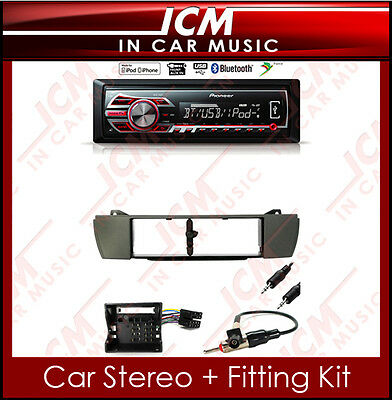 BMW Z4 E85 Bluetooth Pioneer Mech-less USB MP3 Aux-in iPod iPhone Car Stereo Kit