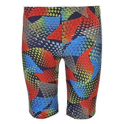 Zoggs Kids Mindscape Jammers Junior Boys Trunk Shorts Training Sports Swimwear