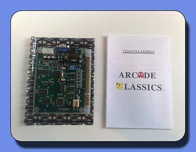 60 in 1 Arcade Multicade Jamma Board Space Invaders Donkey Kong Galaga Scamble
